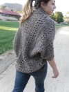 X-Stitch Shrug Pattern