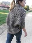 Crochet X-Stitch Shrug
