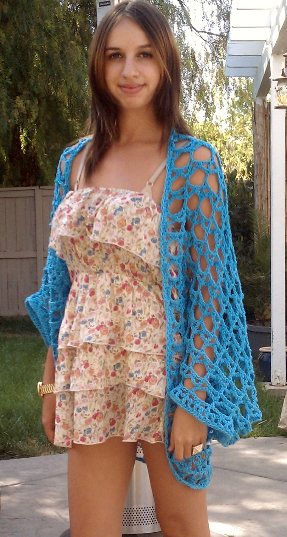 Free Crochet Shrug Pattern : ... free PDF download or get it on Craftsy and see my other patterns too